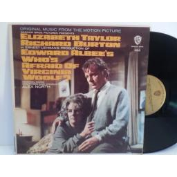 Alex North WHO'S AFRAID OF VIRGINIA WOOLF (ORIGINAL MUSIC FROM THE MOTION PICTURE), B 1656