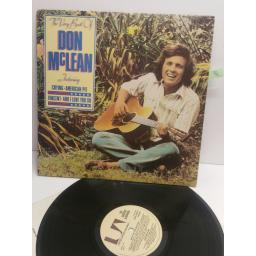 DON McLEAN the very best of Don McLean UAG30314