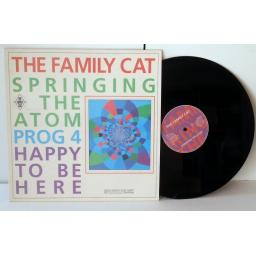 THE FAMILY CAT springing the atom