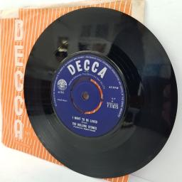 "THE ROLLING STONES, come on, B side I want to be loved, F.11675, 7"" single"