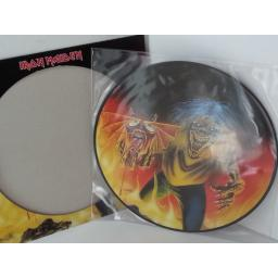 SOLD: IRON MAIDEN the number of the beast, picture disc, 12EM666