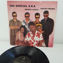 "THE SPECIAL AKA, bright lights, racist friend, 12"" SINGLE, TT12 25"