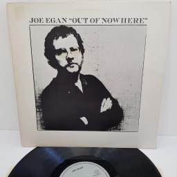 "JOE EGAN, out of nowhere, ARL 5021, 12"" LP"