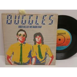 BUGGLES video killed the radio star. 7 INCH PICTURE SLEEVE. WIP 6524