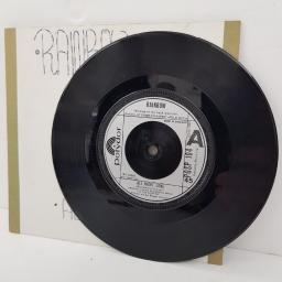 "RAINBOW, all night long, B side weiss heim, POSP 104, 7"" single"