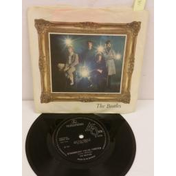 THE BEATLES strawberry fields forever, 7 inch single, R 5570