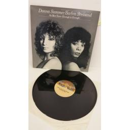 DONNA SUMMER & BARBRA STREISAND no more tears (enough is enough), single sided, NBD 20199