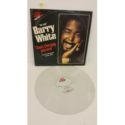"BARRY WHITE ""just the way you are"" from the forthcoming lp 'the man', limited edition white vinyl, BT571"