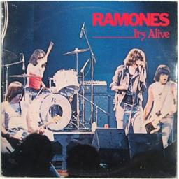 the ramones, ITS ALIVE