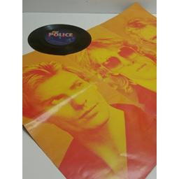 "THE POLICE don't stand so close to me & friends 7"" POSTER SLEEVE SINGLE AMS7564"