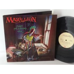 MARILLION script for a jester's tear, gatefold, EMC 3429