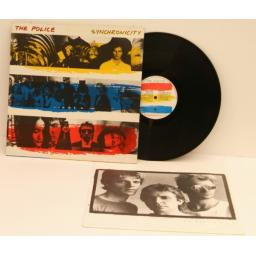 THE POLICE, synchronicity With mechanise flyer. First UK pressing 1983. A&M.