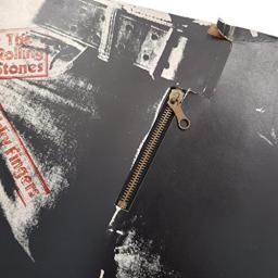 ROLLING STONES, Sticky Fingers. 1ST Pressing LARGE ZIPPER