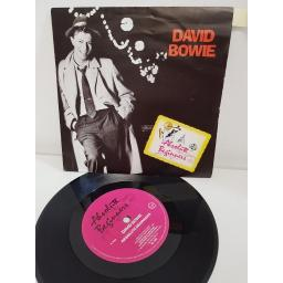 DAVID BOWIE, absolute beginners, side B absolute beginners dub mix, VS. 838, 7'' single.
