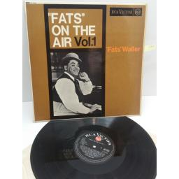 "FATS WALLER ""fats"" on the air vol 1, RD-7552"