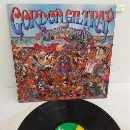 "GORDON GILTRAP, the peacock party, GIL 1, 12"" LP"