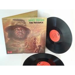 OUT OF STOCK JAMES BROWN the payback, vinl LP, gatefold, double album