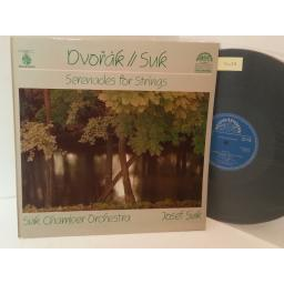 DVORAK, SUK serenades for strings, 1110 4136