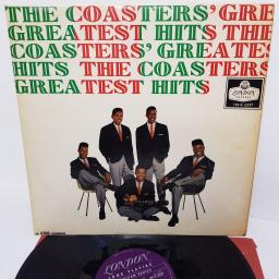 "THE COASTERS, the coasters' greatest hits, HA-K 2237, 12"" LP, compilation, mono"