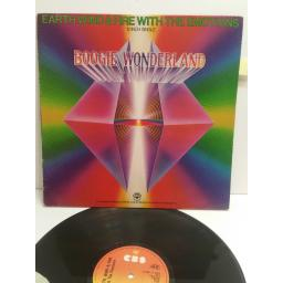 EARTH WIND AND FIRE boogie wonderland 12 inch single CBS127292