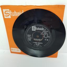 "THE TOYS, a lovers concerto, B side this night, SS 460, 7"" single"