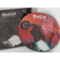 SOLD: MEAT LOAF bat out of hell, picture disc, 660006 6
