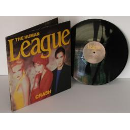 SOLD : THE HUMAN LEAGUE, Crash 1986.First UK pressing. Virgin [Vinyl] THE HUMAN LEAGUE