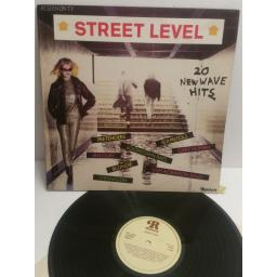 SOLD : STREET LEVEL 20 new wave hits PRETENDERS, SEX PISTOLS, BLONDIE, IAN DURY etc AS SEEN ON TV. RTL2048