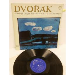 DVORAK, DVORAK QUARTET, MEMBERS OF THE VLACH QUARTET sextet in a major, 50824