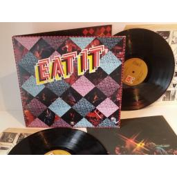 Humble Pie EAT IT, with book insert. AMLS 6004-1, double album, gatefold.