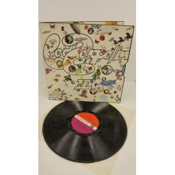 LED ZEPPELIN led zeppelin iii, gatefold, no peter grant on label, 2401002