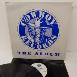 "COWBOY RECORDS - THE ALBUM - VOLUME 1, RODEO LP 1, 2x12"" LP"