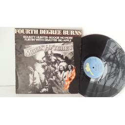 FOURTH DEGREE BURNS molly hatchet, bounty hunter, boogie no more, S EPC 12 8636
