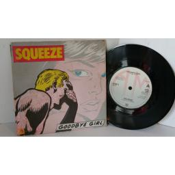 SQUEEZE goodbye girl, 7 inch single, 3D cover, AMS 7398