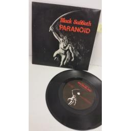 BLACK SABBATH paranoid, 7 inch single, BSS 101
