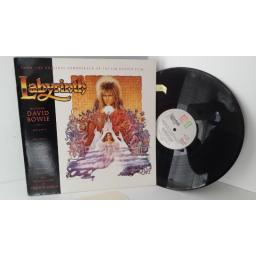 SOLD: DAVID BOWIE AND TREVOR JONES labyrinth (from the original soundtrack of the jim henson film), AML 3104