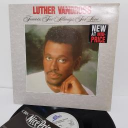 "LUTHER VANDROSS, forever, for always, for love, 463001 1, 12"" LP"