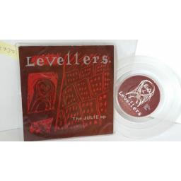 LEVELLERS the julie ep, 7 inch single, clear vinyl, WOK P 2042