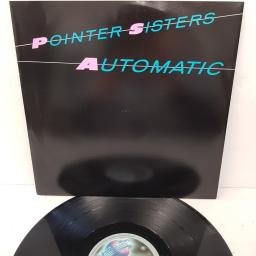 "POINTER SISTERS, automatic (special remix), B side (album version) + nightline, RPST 105, 12"" single"