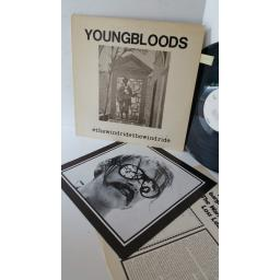 THE YOUNGBLOODS ride the wind, lyric insert, BS 2563