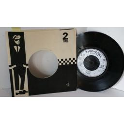 MADNESS the prince, 7 inch single, CHS TT3