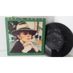 DAVID BOWIE john, i'm only dancing (again), 7 inch single, BOW 4