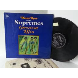 DIANA ROSS AND THE SUPREMES greatest hits, STML 11063