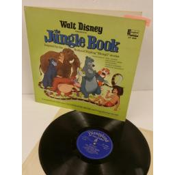 PHIL HARRIS, SEBASTIAN CABOT, LOUIS PRIMA, GEORGE SANDERS, STERLING HOLLOWAY the jungle book, gatefold, centre attached booklet, ST 3948