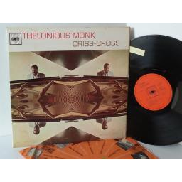 THELONIOUS MONK criss cross, 62173