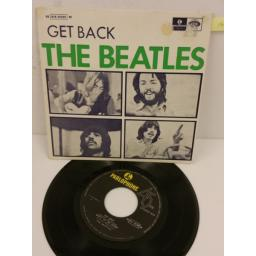 THE BEATLES get back, 7 inch single, 8E 016 05209