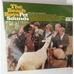 THE BEACH BOYS pet sounds, ST 2458