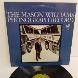"MASON WILLIAMS, the mason williams phonograph record, WS 1729, 12"" LP"