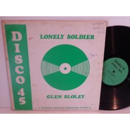 Glen Sloely LONELY SOLDIER