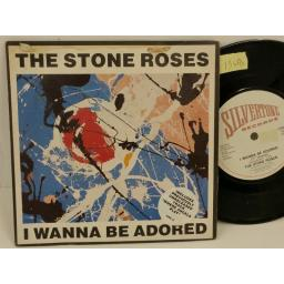 THE STONE ROSES i wanna be adored, PICTURE SLEEVE, 7 inch single, ORE 31